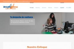 Web Asesoría Antonio Jiménez