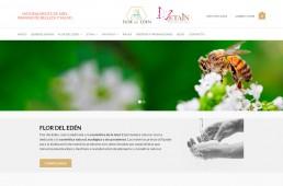 Web Flor del Edén